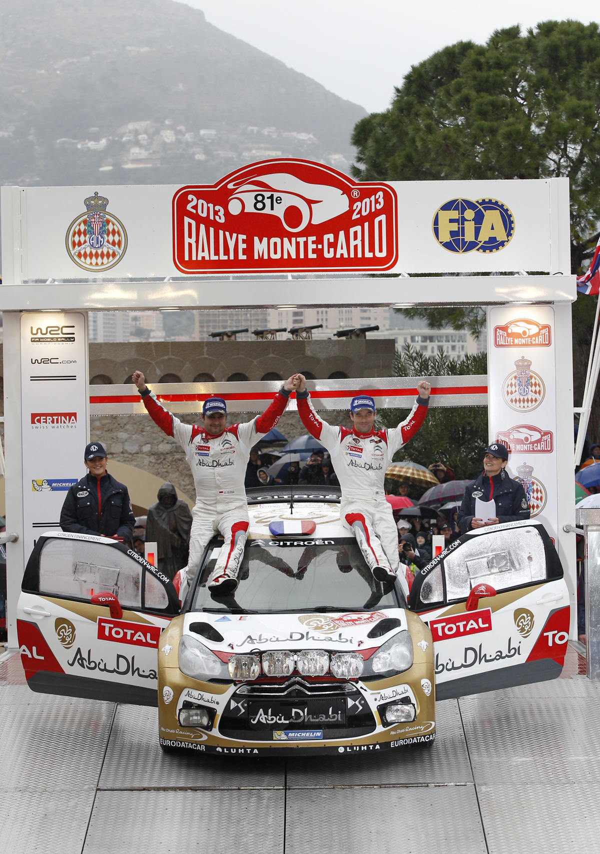 Sébastien Loeb and Daniel Elena - Winners