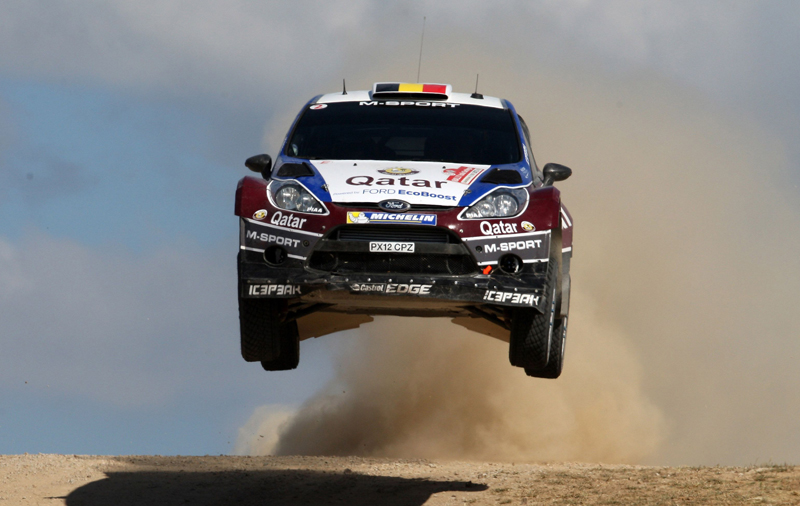 Thierry Neuville Nicolas Gilsoul (Ford Fiesta WRC #11, Qatar World Rally Team)