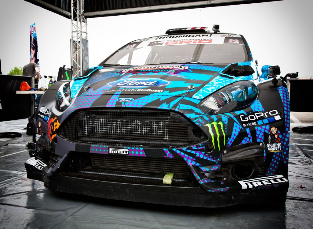 BLOCK TAKES FORD FIESTA ST RX43 TO MAIDEN VICTORY IN LAS VEGAS