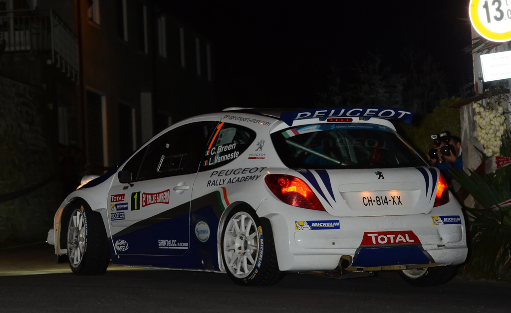 FIA ERC: PEUGEOT RALLY ACADEMY: LOOKING TO END 2013 ON A HIGH NOTE