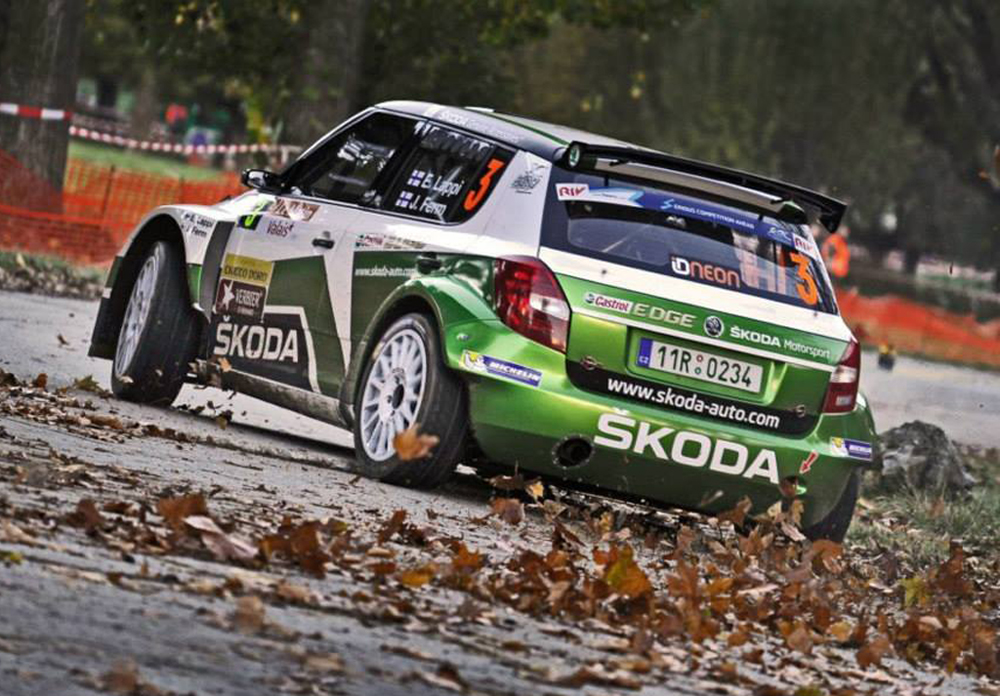 CHARGING LAPPI LEADS ACTION-PACKED SWISS ERC COUNTER