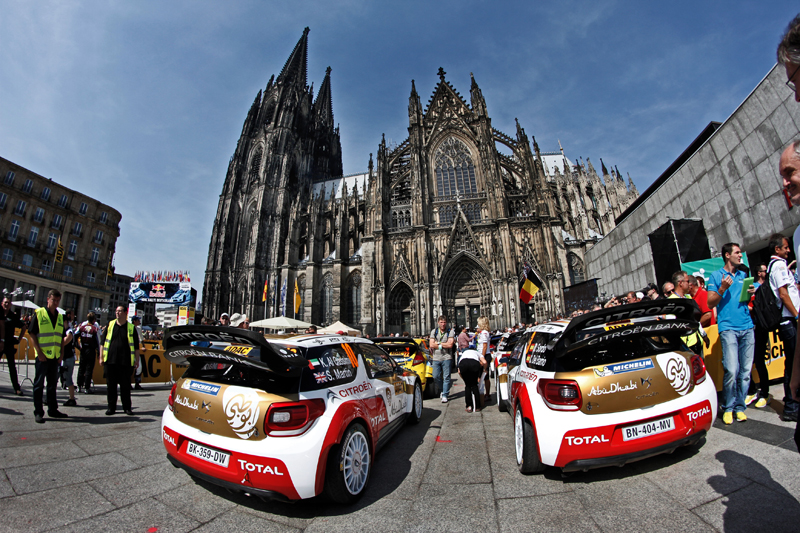 WORLD RALLY CHAMPIONSHIP 2013 - WRC DEUTSCHLAND