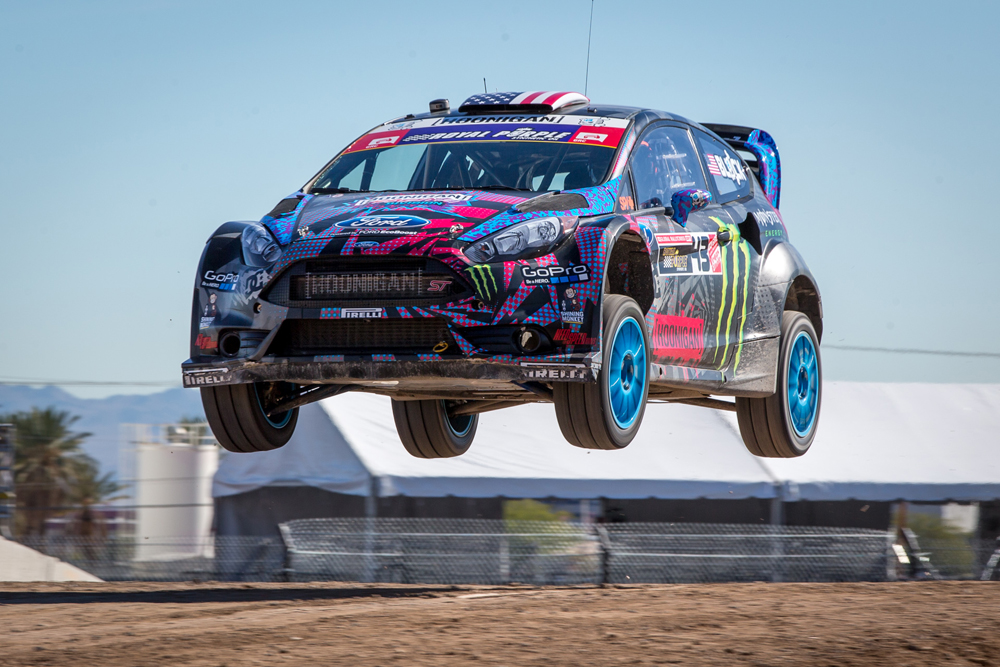 KEN BLOCK WINS GLOBAL RALLYCROSS LAS VEGAS!