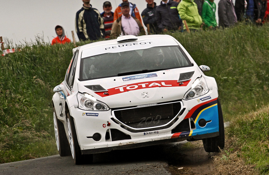 abbring and breen with peugeot 208 t16 r5 for erc 2014 rallyreportwrc. Black Bedroom Furniture Sets. Home Design Ideas