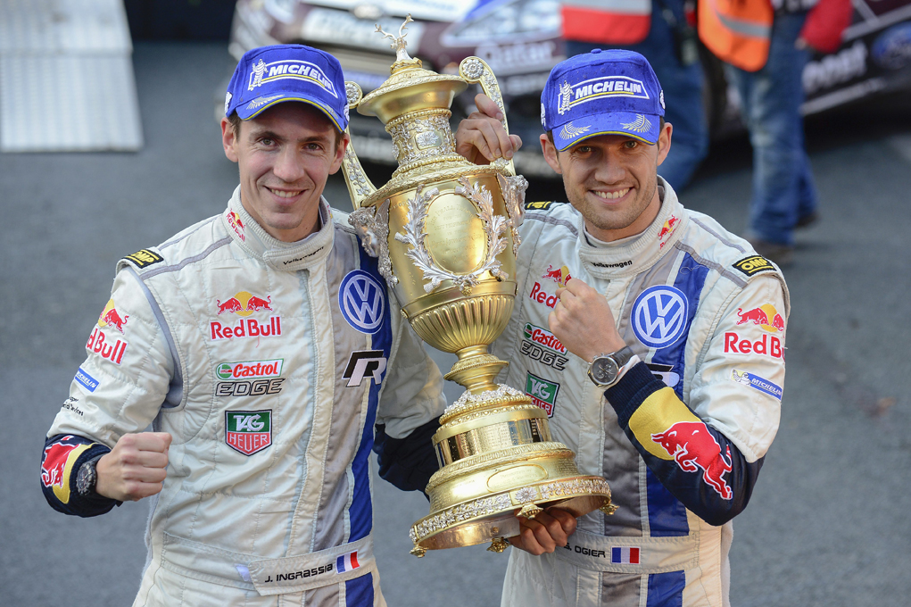 SAVING THE BEST FOR LAST-VOLKSWAGEN SIGNS OFF WRC SEASON WITH A ONE-TWO