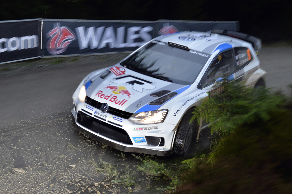 HERE WE GO: WORLD RALLY CHAMPION* OGIER TOPS QUALIFYNG IN WALES