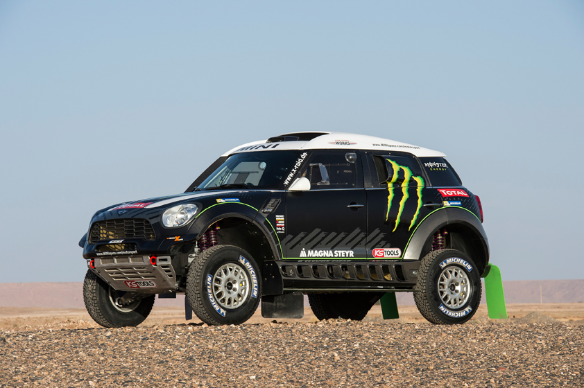 MINI AND X-RAID TEAM WILL LINE UP AT THE 2014 RALLY DAKAR WITH THE MINI ALL4 RACING