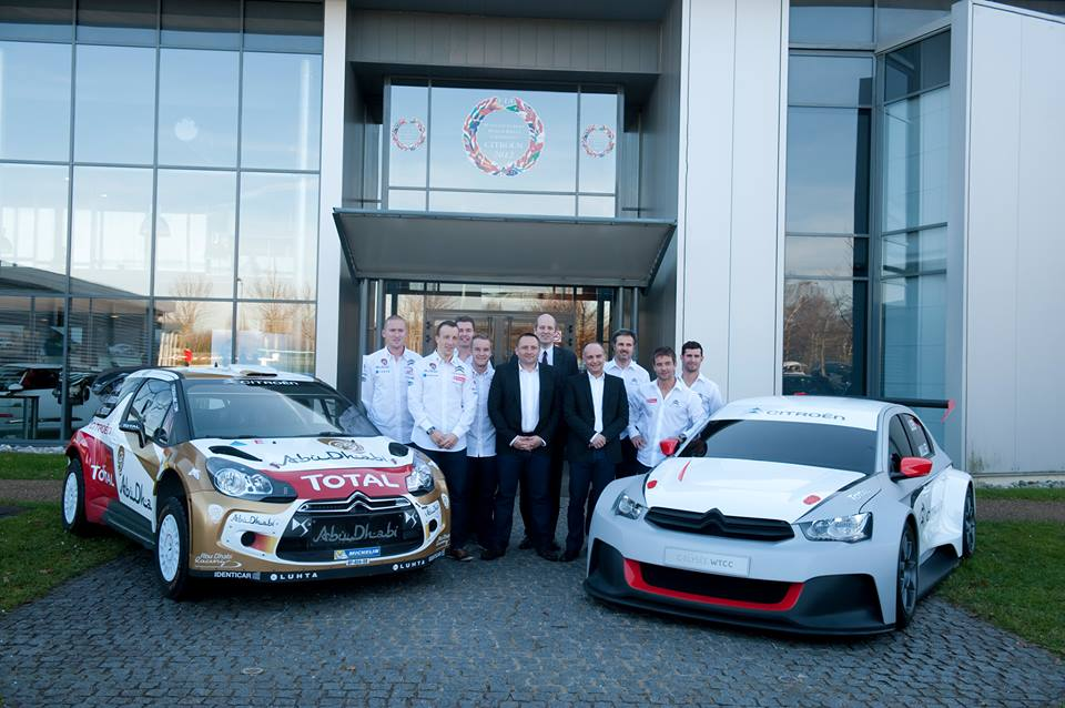 FROM MONTE-CARLO TO MACAO: CITROËN RACING TO FIGHT ON ALL FRONT!