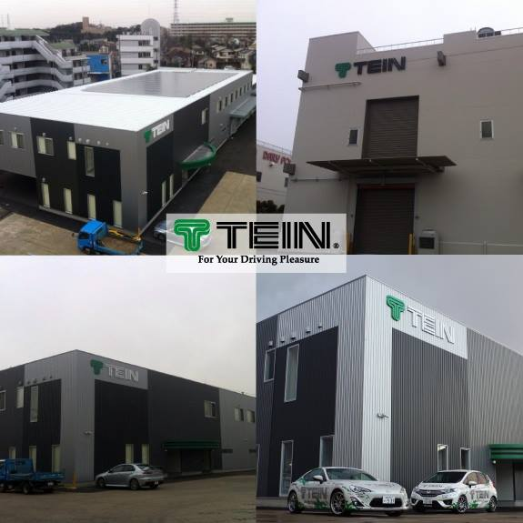TEIN NEW HEADQUARTER OFFICE & FACTORY BUILDING NEARLY COMPLETED!