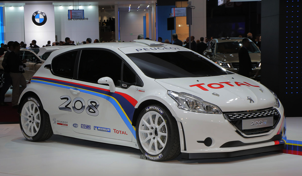PEUGEOT RALLY ACADEMY 2014 BY 208 T16 / 208 R2