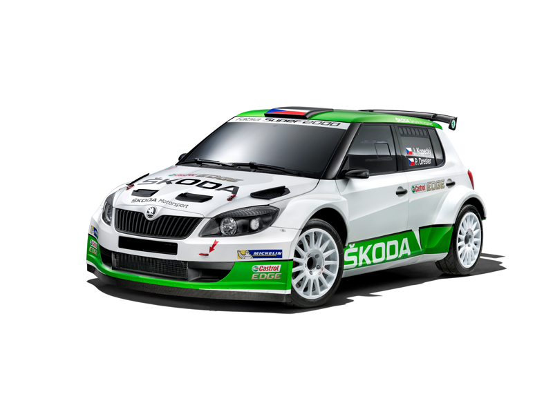 "MICHAL HRABÁNEK "" THIS IS OUR PRIORITY NR.1 FOR THIS YEAR NEW ŠKODA R5″"