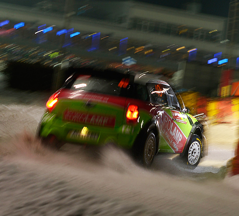 MINI-EUROLAMP WORLD RALLY TEAM- RALLY SWEDEN-ONE MORE STEP