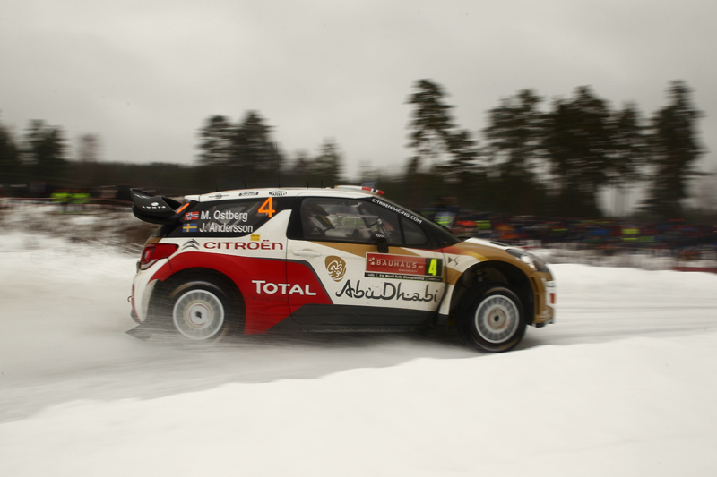 MADS ØSTBERG ON COURSE FOR PODIUM SPOT