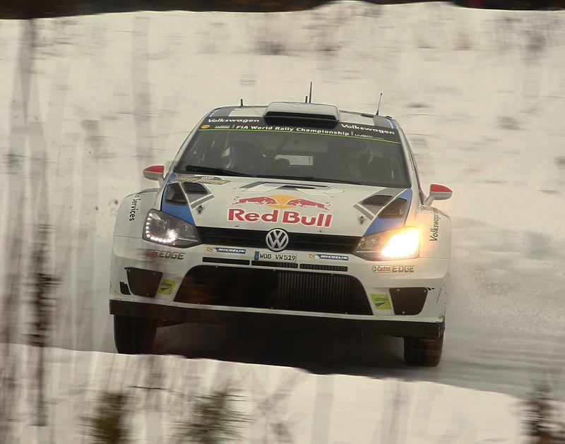 HEAD-TO-HEAD DRIFTING AT ITS FINEST- LATVALA AND MIKKELSEN LEAD IN SWEDEN