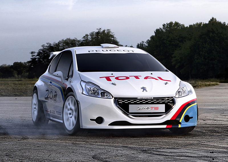 ERC WINNER MAGALHAES IS BACK IN ACTION WITH PEUGEOT 208 T16