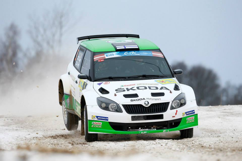 ŠKODA WIN RALLY LATVIA WITH LAPPI/FERM- WIEGAND/CHRISTIAN IN FIFTH PLACE