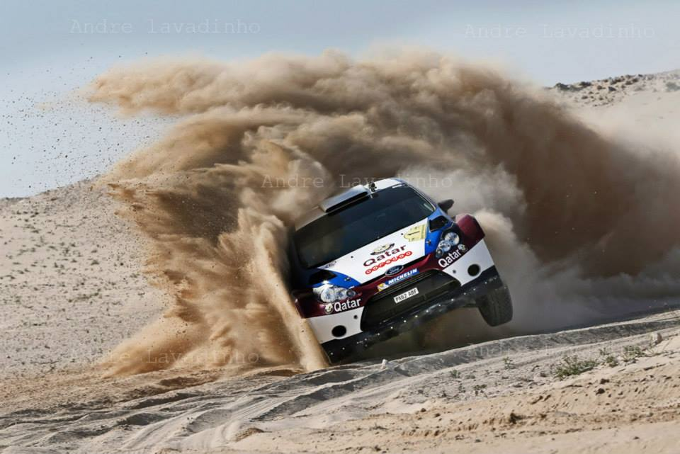 FAVOURITE AL-ATTIYAH FENDS OFF FIERCE AL-KUWARI CHALLENGE TO LEAD QATAR INTERNATIONAL RALLY
