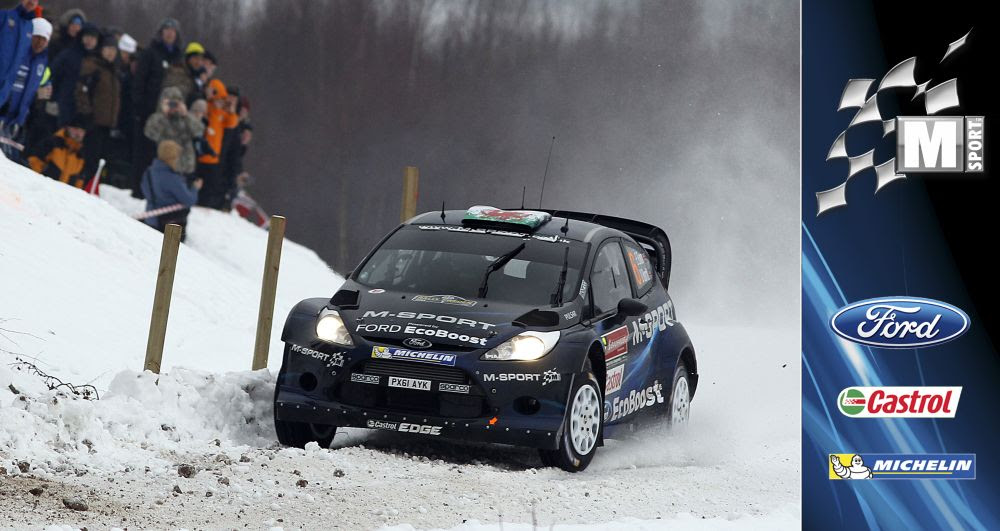 M-SPORT: MIDDAY QUOTES, RALLY SWEDEN, DAY 3