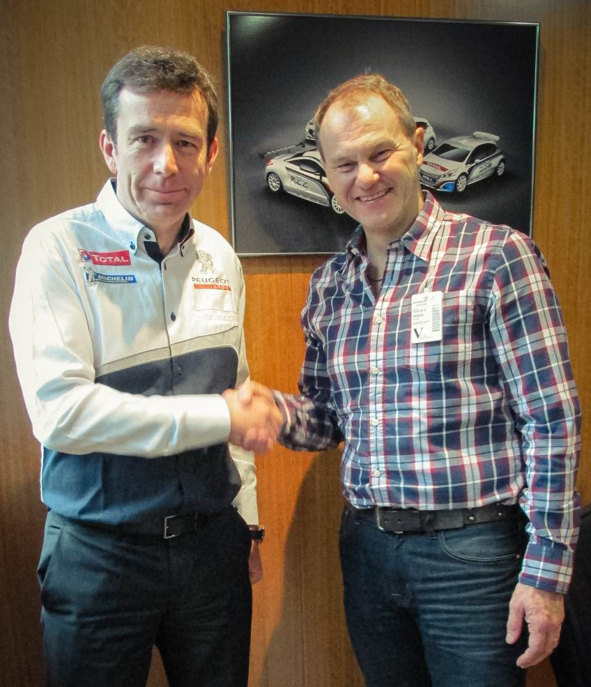 PEUGEOT BECOMES SECOND MAJOR MANUFACTURER TO COMMIT TO WORLD RX