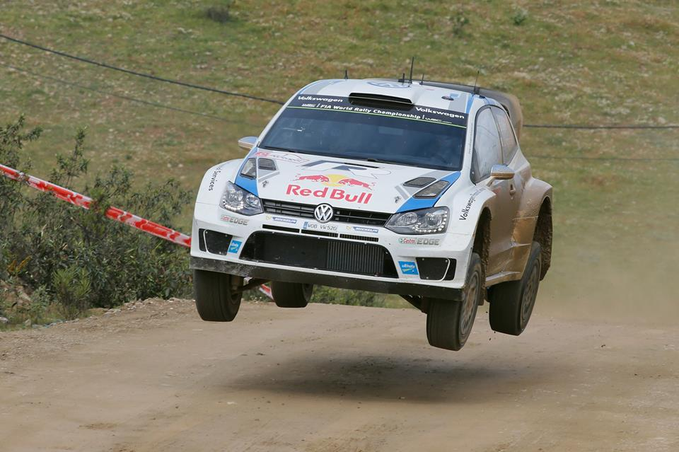 THREE-WAY BATTLE IN PORTUGAL, VOLKSWAGEN DRIVER OGIER AMONG EARLY LEADERS