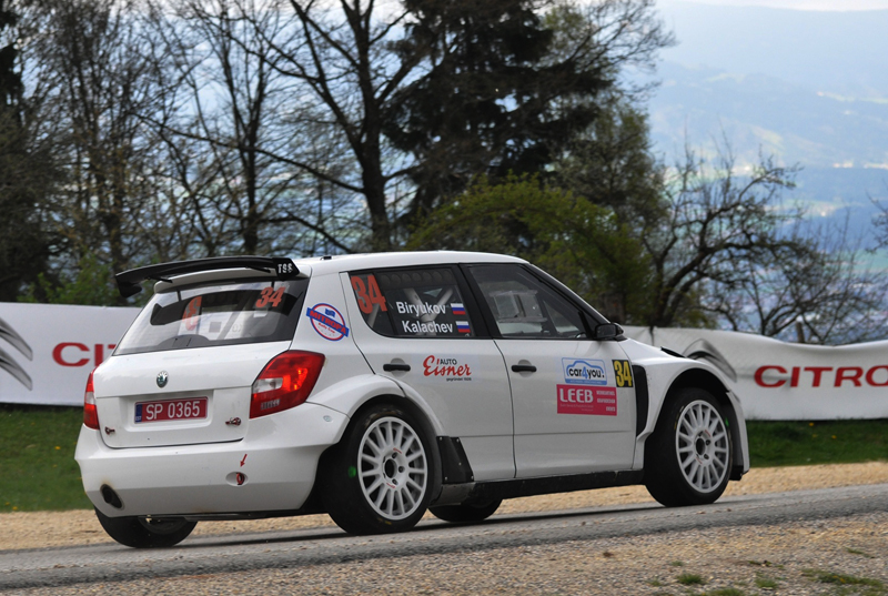 BIRYUKOV AND TGS TEAM ENTRANTS AT AUSTRIAN LAVANTTAL RALLY