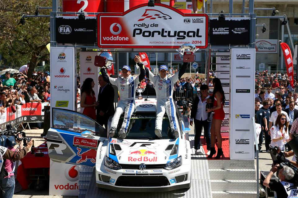 WORLD RALLY CHAMPIONSHIP LEAD EXTENDED – OGIER WINS IN PORTUGAL FOR VOLKSWAGEN