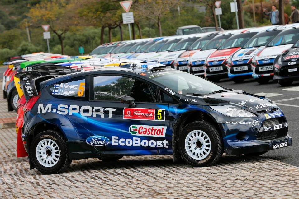M-SPORT DOMINATE RALLY DE PORTUGAL ENTRY