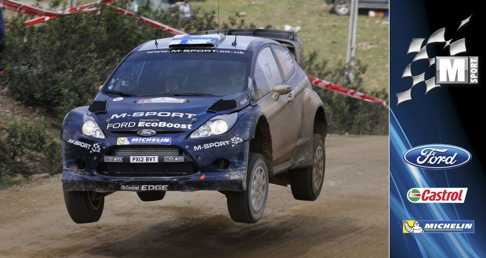 HIRVONEN LEADS AT RALLY DE PORTUGAL