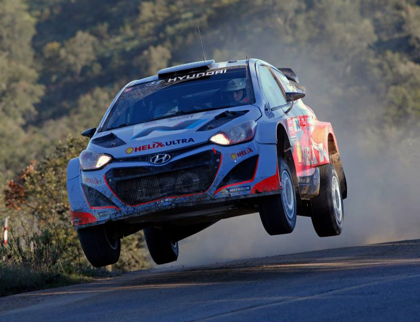 HYUNDAI SHELL WORLD RALLY TEAM FINDS POSITIVES AFTER CHALLENGING RALLY DE PORTUGAL