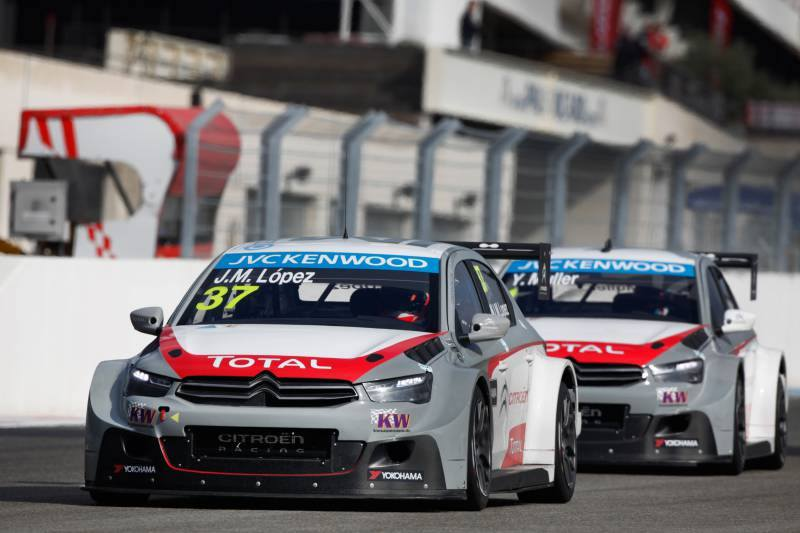 WINS FOR MULLER AND LÓPEZ IN FRANCE BY CITROËN C-ElYSÉE WTCC