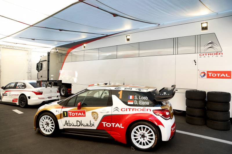 CITROËN DS3 WRC GOES TO MONACO FOR POSTERITY