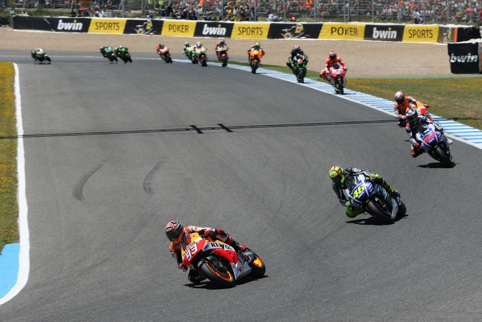 MAGNIFICENT MARQUEZ MAKES IT FOUR-INA-ROW IN SPAIN ON HIS 100TH GP
