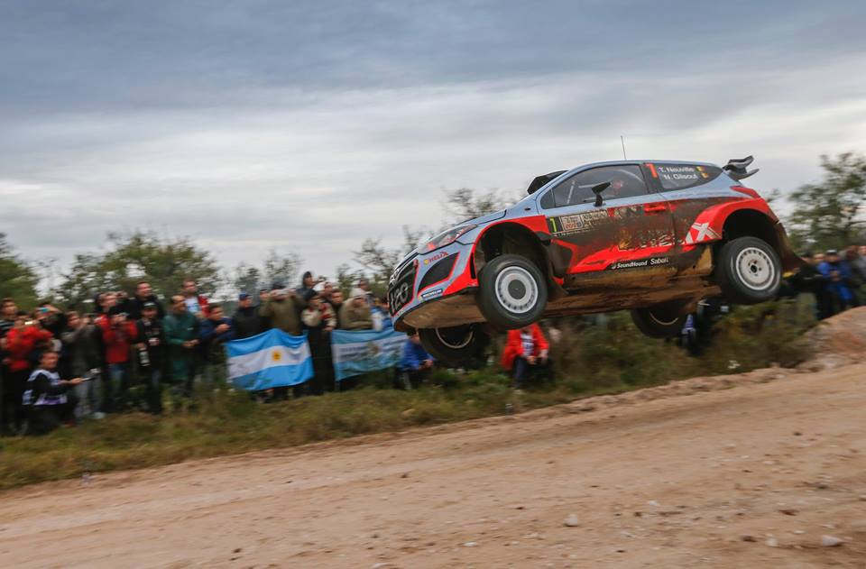 HYUNDAI SHELL WORLD RALLY TEAM BATTLES TO TOP FIVE FINISH AFTER TOUGH RALLY ARGENTINA