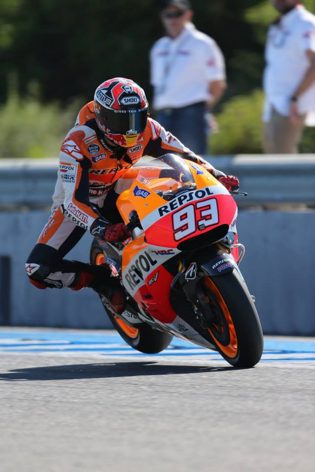MARQUEZ CONTINUES QUALIFYNG DOMINATION WITH FOURTH CONSECUTIVE POLE AND PEDROSA 3RD