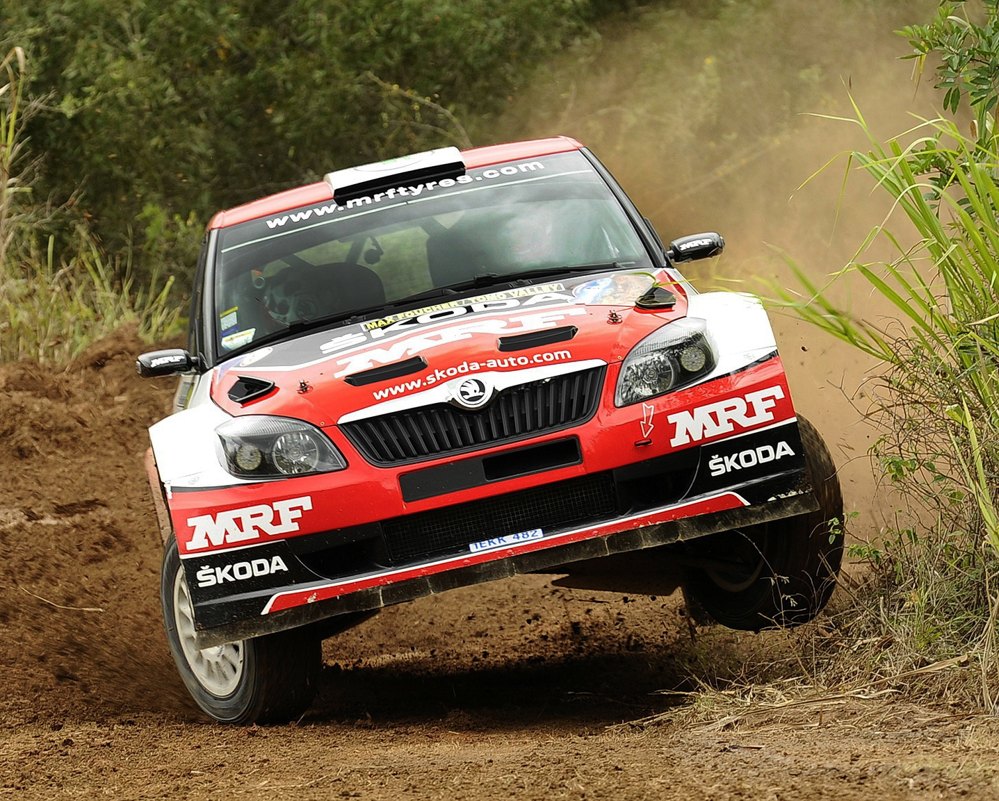 KOPECKÝ AND GILL PRESENT ŠKODA WITH ITS SECOND ONE-TWO OF THE APRC SEASON