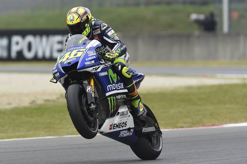 VALENTINO ROSSI RETURNS HOME IN MUGELLO FOR ITALIAN GRAND PRIX