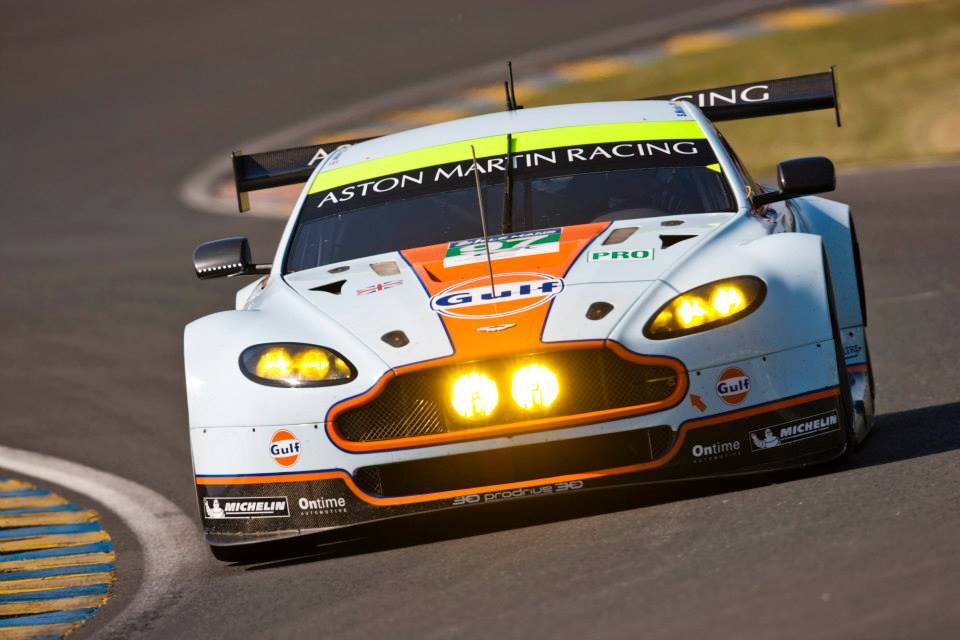 ASTON MARTIN RACING CONTINUES TO LEAD AT THE HALFHAY MARK