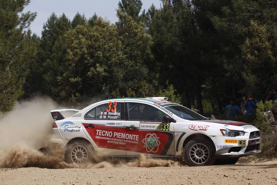 STRONG FINISH FOR RENDINA AT RALLY D'ITALIA