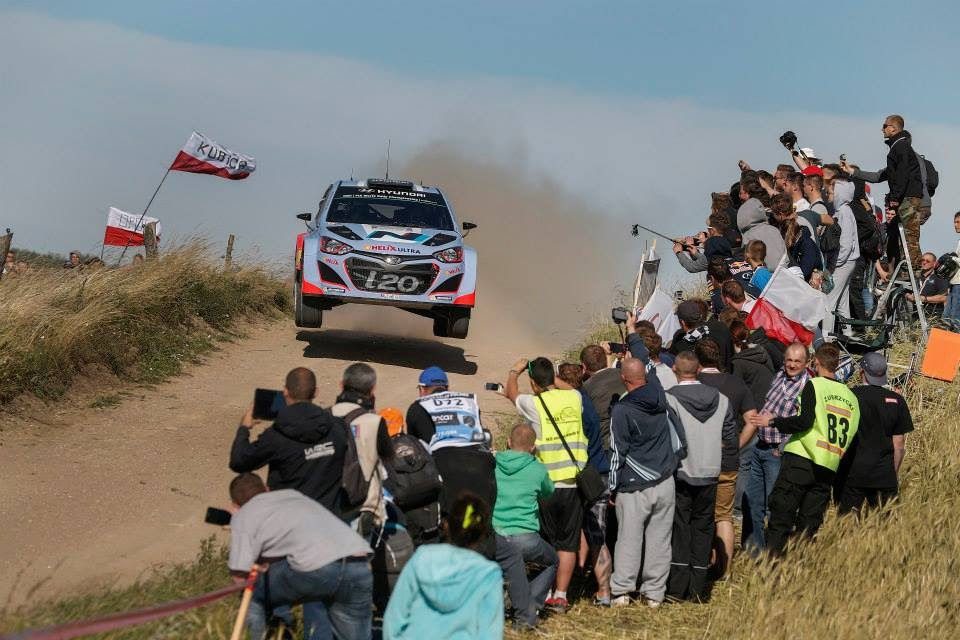 HYUNDAI SHELL WORLD RALLY TEAM REFLECTS ON DISRUPTED FRIDAY IN RALLY POLAND