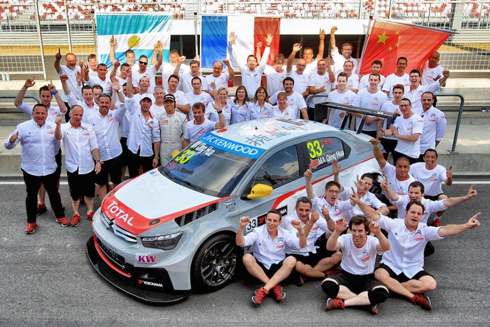 CITROËN'S MA QING HUA MAKES MOTORSPORT HISTORY!