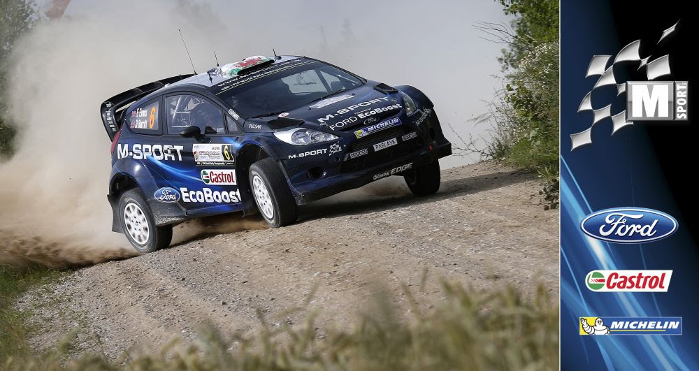 M-SPORT WORLD RALLY TEAM: LOTOS RALLY POLAND DAY ONE