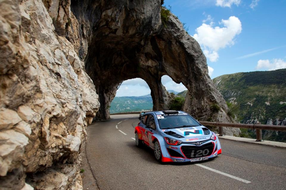 HYUNDAI MOTORSPORT SUCCESSFULLY COMPLETES RALLY ANTIBES TEST
