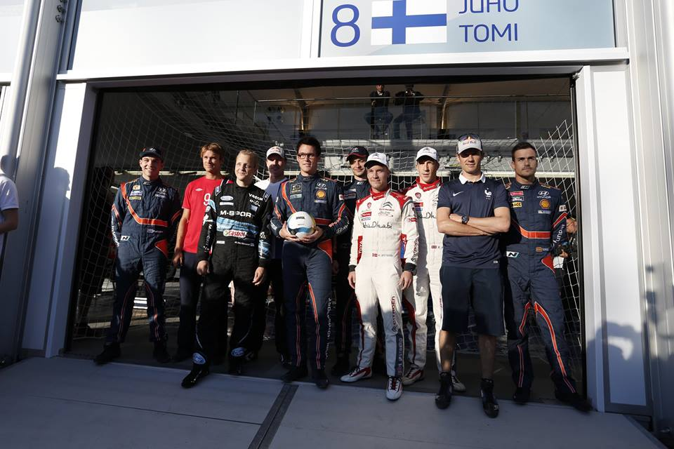 HYUNDAI MOTORSPORT DRIVERS CHALLENGE WRC RIVALS TO PENALTY SHOOT-OUT IN POLAND