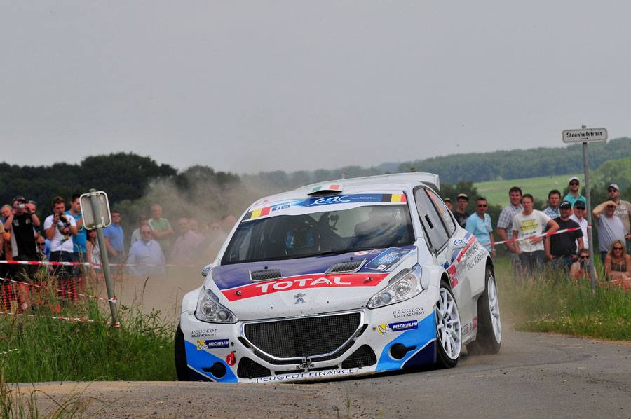 ERC / YPRES: THE 208 T16 GOES UNREWARDED FOR ITS PACE, WHILE THE 208 R2 DOMINATES IN BELGIUM