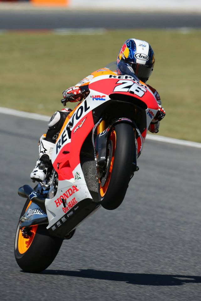 PEDROSA TAKES HOME POLE POSITION WITH MARQUEZ THIRD AFTER LATE CRASH