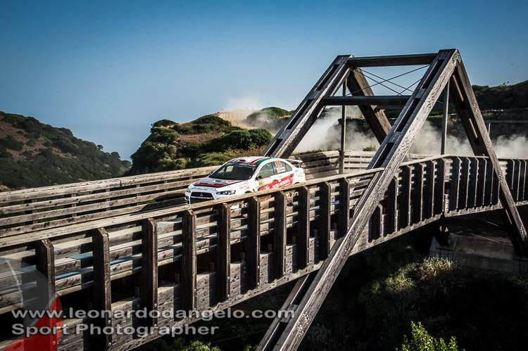 TOUGH BUT STEADY DAY FOR RENDINA AT RALLY D'ITALIA