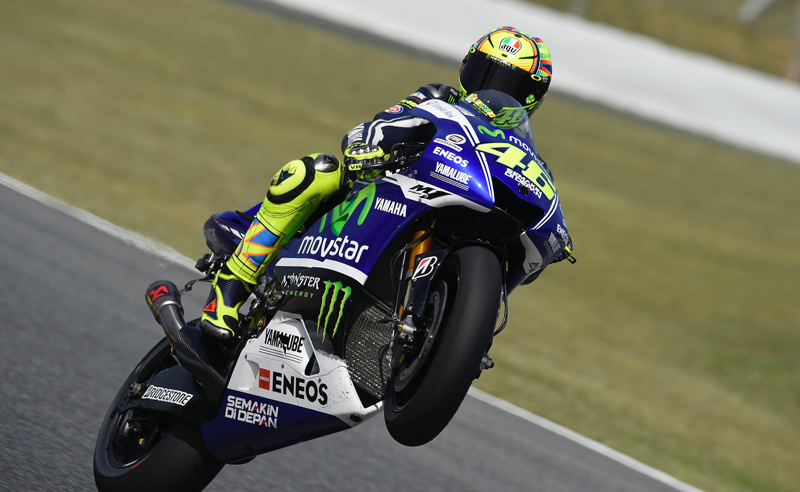 MOTOGP ACTION BEGINS IN CATALUNYA