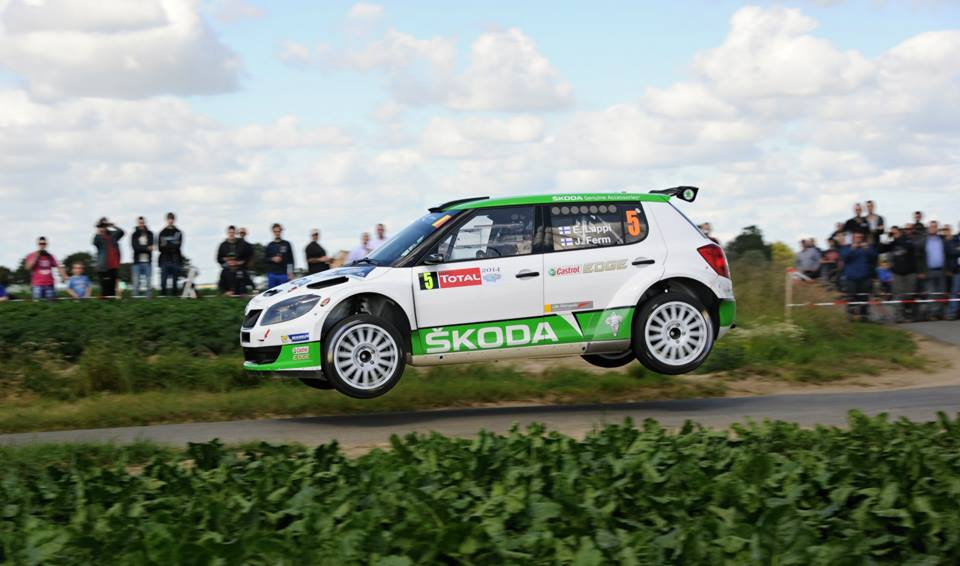 GOOD START FOR ŠKODA AT THE 50TH YPRES RALLY