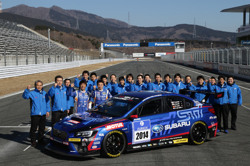 SUBARU TO PARTICIPATE IN THE NÜRBURGRING 24-HOUR RACE