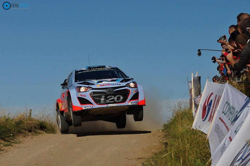 HYUNDAI SHELL WORLD RALLY TEAM: LOTOS RALLY POLAND WRC- DAY ONE